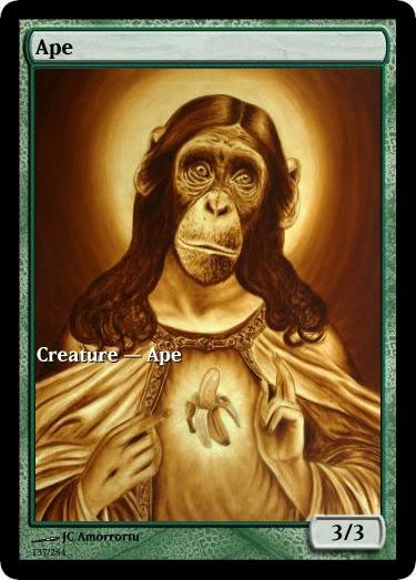 Ape token mtg JC Amorroru