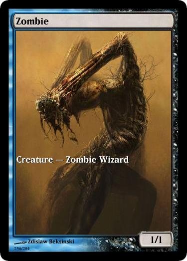 Zombie Token Mtg Zdislaw Beksinski Arkanes Elder Dragon