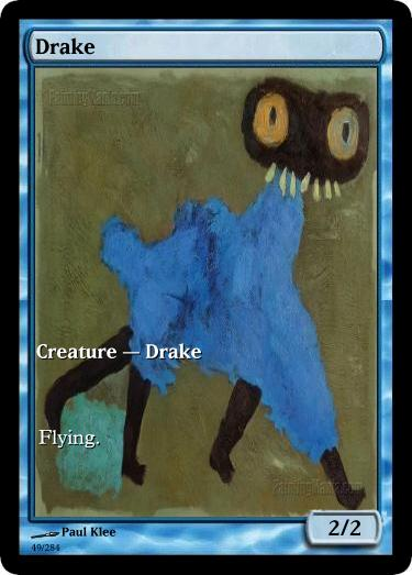 Drake token mtg Paul Klee