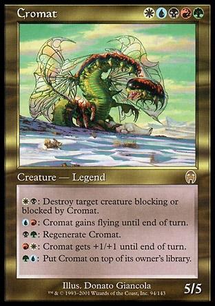 Nouvelle decklist commander : Cromat 5 colors Pact Combo