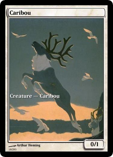 Caribou mtg token Arthur Heming