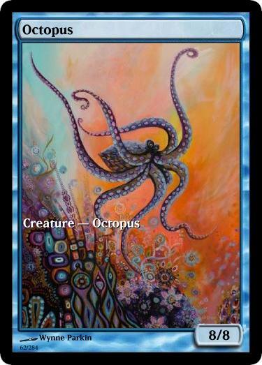 Octopus token mtg Wynne Parkin