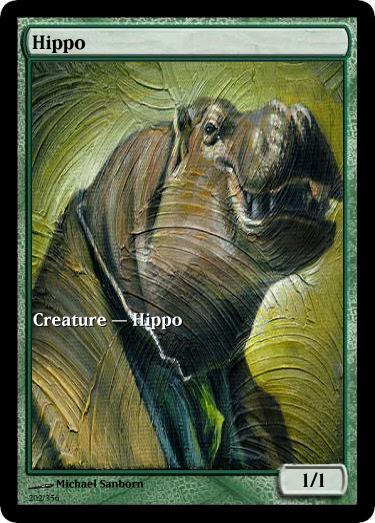 Hippo token mtg Michael Samborn
