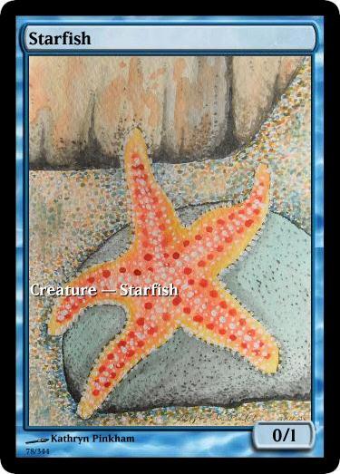 Starfish token mtg Kathryn Pinkham