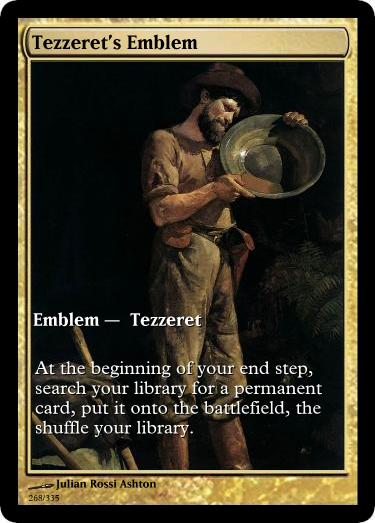 Tezzeret's Emblem mtg Julian Rossi Ashton