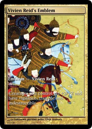 Vivien Reid's Emblem mtg unknown artist